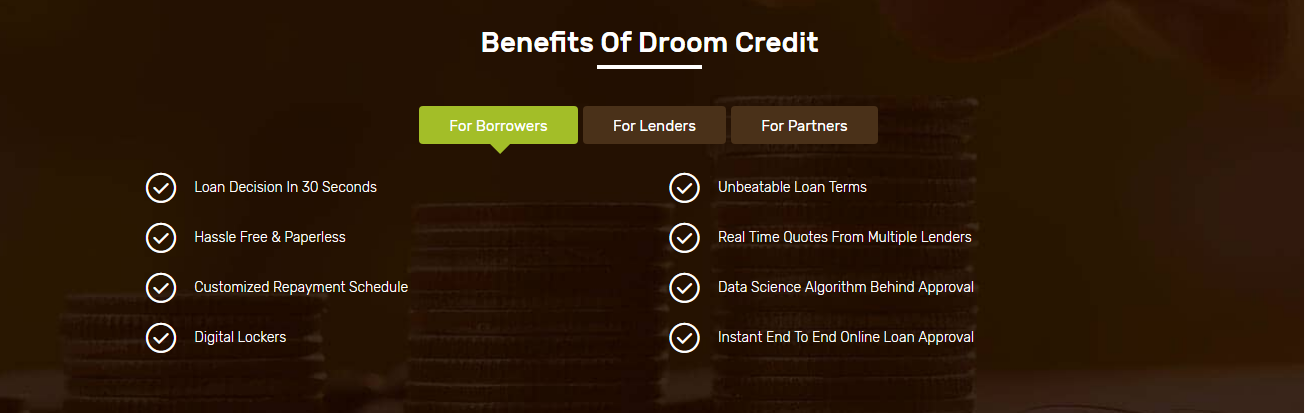 How does Droom Credit works!