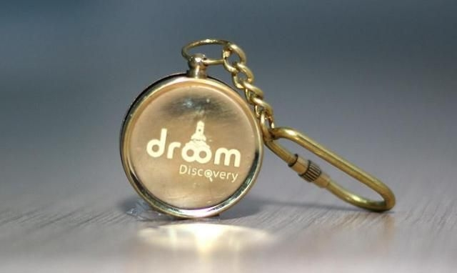 Droom Discovery Compass Key Chain - Set of 2