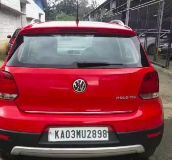 Volkswagen Cross Polo 1.5 TDI 2014
