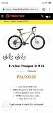 FIREFOX Trooper D 19.5 Inches 21 Speed 2018