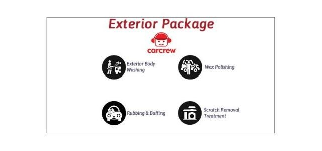 Exterior Car Care Detailing - Carcrew