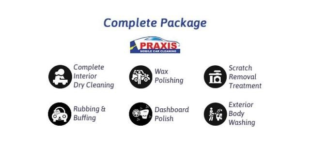 Complete(Interior and Exterior) Car Care Detailing - Praxis Mobile Car Cleaning