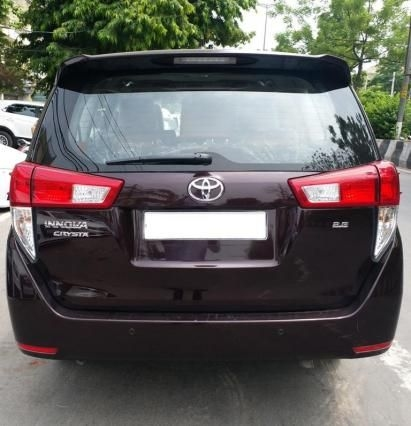 Toyota Innova Crysta 2.8 GX AT 7 STR 2018
